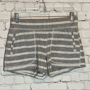 Lucky Brand Lucky Lotus Striped Knit Shorts  XS